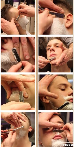 Adam Szulc golenie na mokro