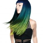 Wlosy i produkty: Crazy Color/Foto: Tony Le-Britton/Makijaż: PJ Maxwell