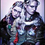 Włosy: Sally Brooks @ Brooks & Brooks, Zdjęcia: Jenny Hands, Makijaż: Lan Nguyen-Grealis, Stylizacja: Milly Simon