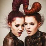 Włosy: Alexander Turnbull, Zdjęcia: Jack Eames, Produkty: Revlon