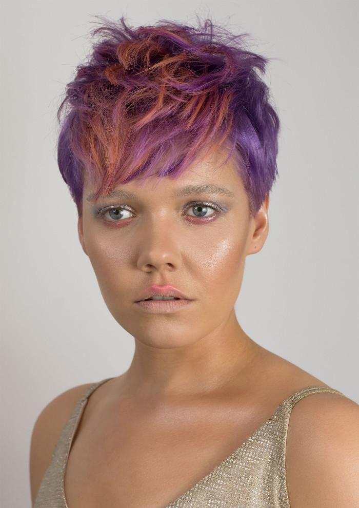 Kinga Kocaj, Global New Talent Artist, Goldwell Color Zoom