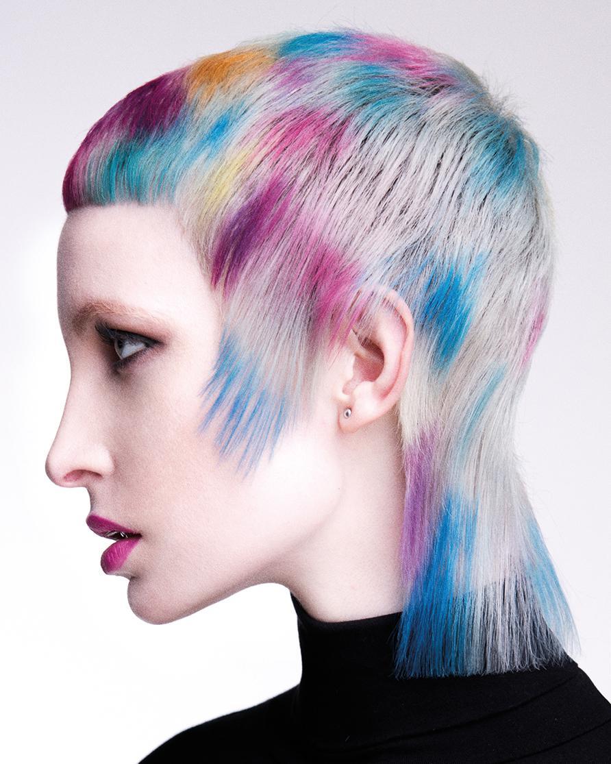 Włosy: Jonathan Andrew @ Jamie Stevens Hair dla Matrix, Zdjęcia: Jakub Koziel, Stylizacja: Jamie Stevens, Produkty: Matrix