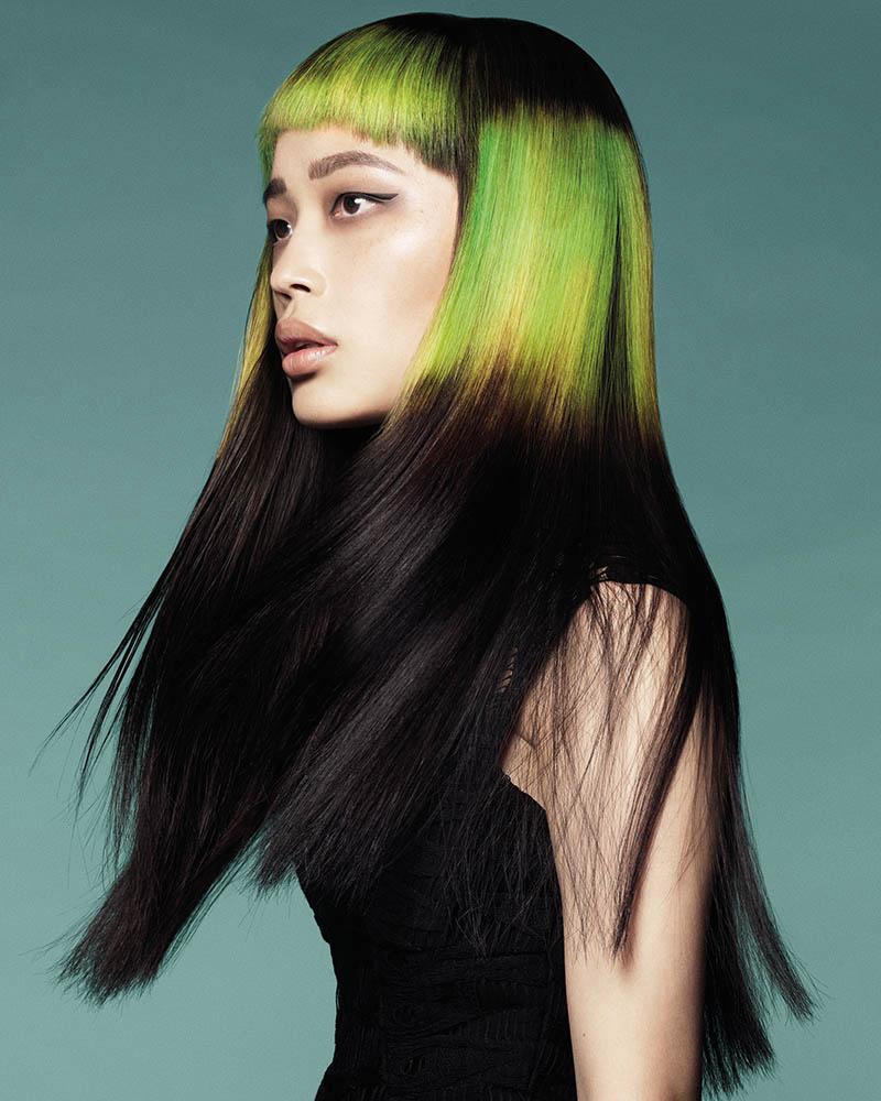 Włosy: Karine Jackson dla Organic Colour Systems, Zdjęcia: Andrew O'Toole, Makijaż: Belinda Zollo, Stylizacja: Mel Nixon, Produkty: Organic Colour Systems
