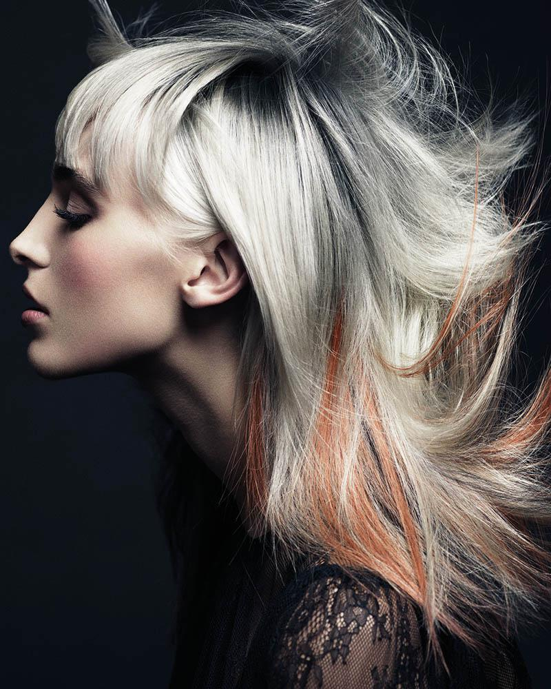 Włosy:Ken Picton Salon, Kolor: Paul Dennison, Zdjęcia: Andrew O'Toole, Makijaż: Kylie O'Toole, Stylizacja: Elaine Marshall, Produkty: L'Oréal Professionnel