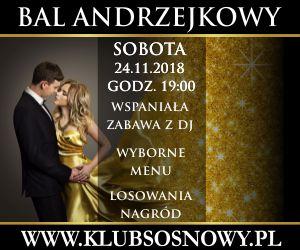 Sosnowy Klub Bal Andrzejkowy