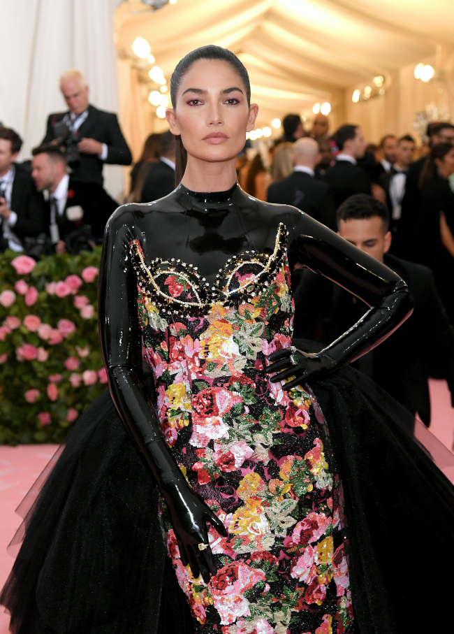 Lily Aldridge, The 2019 Met Gala , Photo by Neilson Barnard/Getty Images