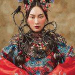 Włosy: Yu Jen Yang, Zdjęcie: Tuan-Kai Liang, Makijaż: Ching Wen Lu, Stylizacja: Yu Jen Yang, Ching Wen Lu