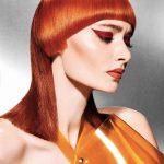 Włosy: Gen Itoh dla TIGI Bed Head, Kolor: Warren Boodaghian, Zdjecie: Alex Barron-Hough