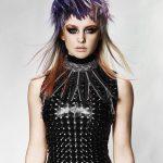 Włosy: Chrystofer Benson @ Chrystofer Benson Collective, Zdjęcie: John Rawson, Makijaż: Danielle Donahue, Stylizacja: Hannah Leigh