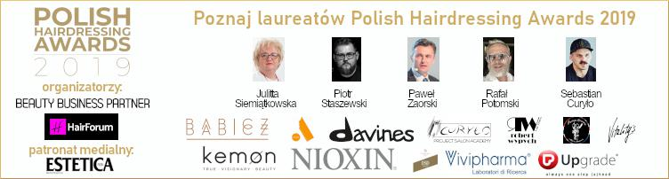 Polish Hairdressing Awards - Laureaci