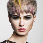 Podwójne rozprowadzanie: Włosy: Sara Piera @ Salones Carlos Valiente, Zdjęcie: Esteban Roca, Makijaż: Nacho Sanz, Stylizacja: Visori Fashionart