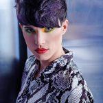 Włosy: Woow Hair Project, Zdjęcie: Mauro Mancioppi, Makijaż: C. Artini, A. Burali, C. Martini, C. Sensi, Stylizacja: Giacomo Dini