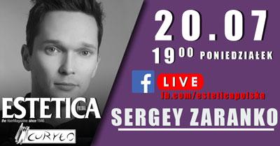 Sergey Zaranenko szkolenie LIVE