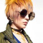 Włosy i makijaż: Hairkrone, Zdjęcie: David Arnal, Stylizacja: Visori Fashionart